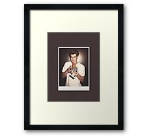 Andrew Garfield (no label) Framed Print