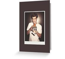 Andrew Garfield (no label) Greeting Card