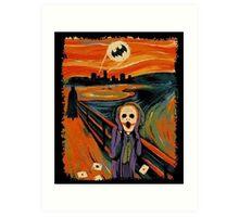 scream joker Art Print