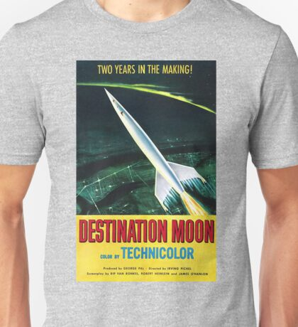 Destination Moon - vintage movie poster Unisex T-Shirt