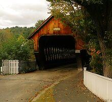 The bridge to Woodstock by Mike  Savad