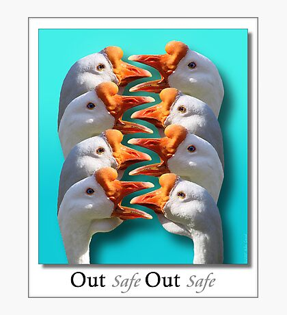 Safe - Out - Safe - Out  Photographic Print
