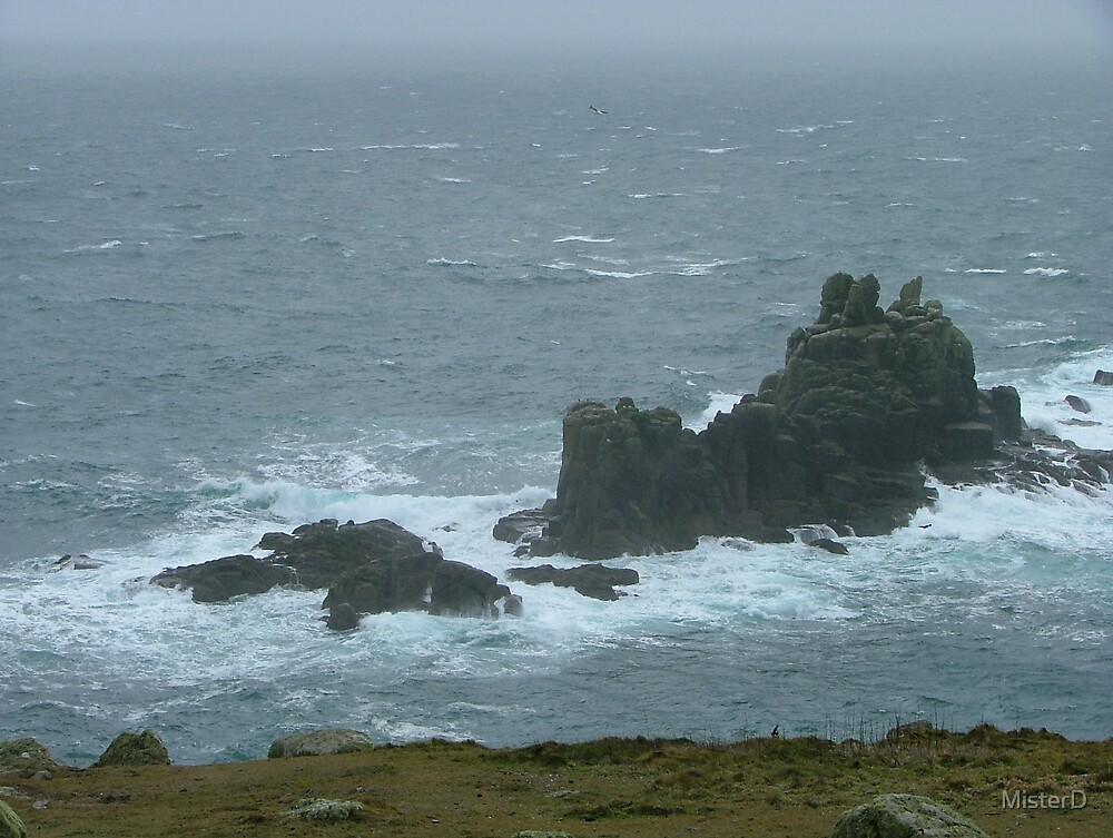 Land's End, Cornwall by MisterD