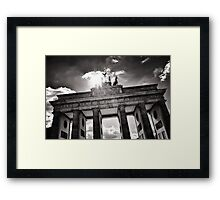Brandenburg Gate (Brandenburger Tor) - Berlin Germany Framed Print