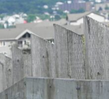 Hill Top Fence Sticker