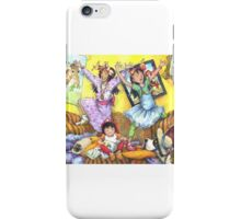 Sisters!!! -small image, cards iPhone Case/Skin