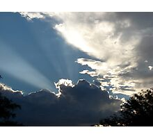 High Beam at Sunrise Photographic Print