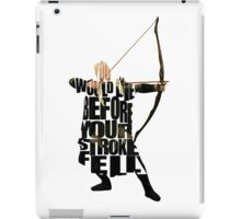 Legolas iPad Case/Skin