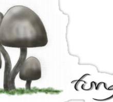 fungi head Sticker