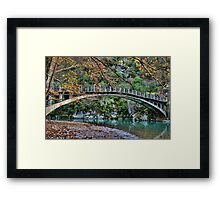 Autumn paradise Framed Print