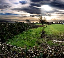 Strange Cloud by warrenphotog