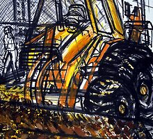Tractor by Enrico Thomas