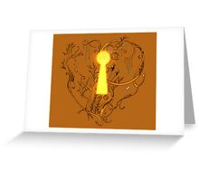 Nature of Love Greeting Card