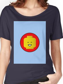 MINIFIG HAPPY FACE Women's Relaxed Fit T-Shirt