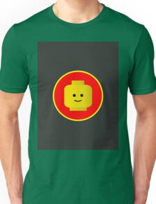 MINIFIG HAPPY FACE Unisex T-Shirt