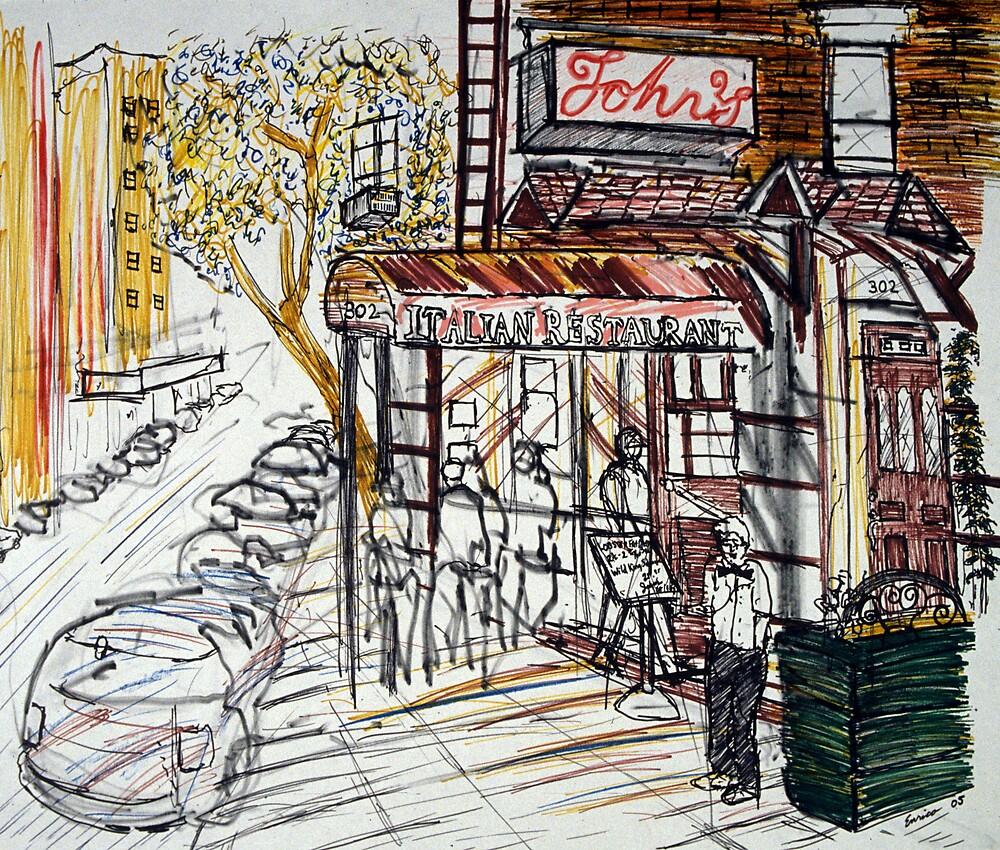 John's Restaurant by Enrico Thomas