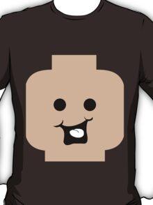 Cheeky Minifig Head  T-Shirt