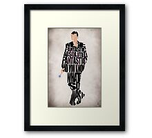 Ninth Doctor Framed Print