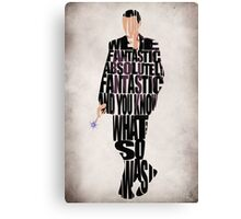 Ninth Doctor Canvas Print