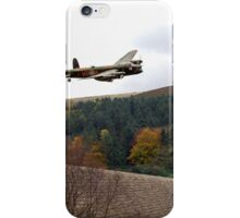 Lancaster VR-A at the Derwent Dam iPhone Case/Skin