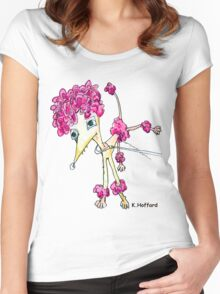 Pink Poodle Women's Fitted Scoop T-Shirt