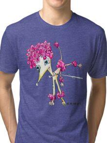 Pink Poodle Tri-blend T-Shirt