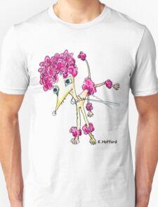 Pink Poodle Unisex T-Shirt