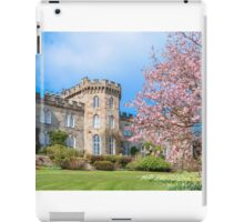 Cholmondeley Castle and Cherry Blossom iPad Case/Skin