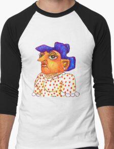 Mom - Betty Men's Baseball ¾ T-Shirt