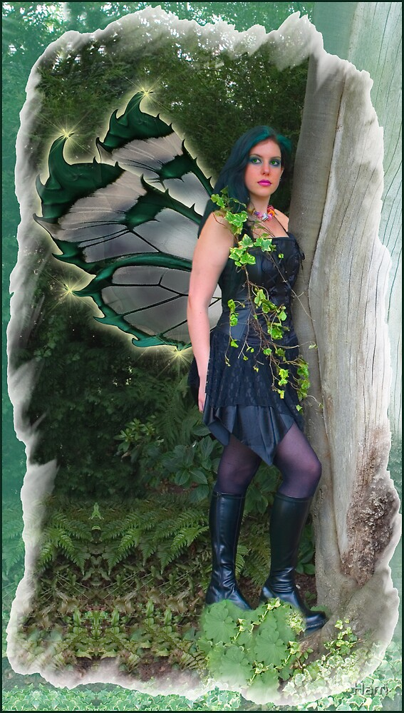 Gothic Fairy by Harri