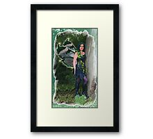 Gothic Fairy Framed Print