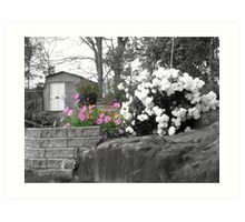 Countrytime with selective colors Art Print