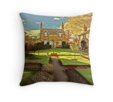 Paradise Square Throw Pillow