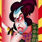 Kabuki Zilla by Alejandro  Valle