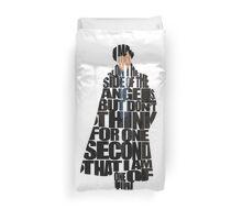 Sherlock Duvet Cover