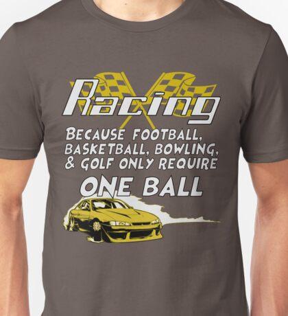 Racing Unisex T-Shirt