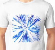 Explosion Blue Unisex T-Shirt
