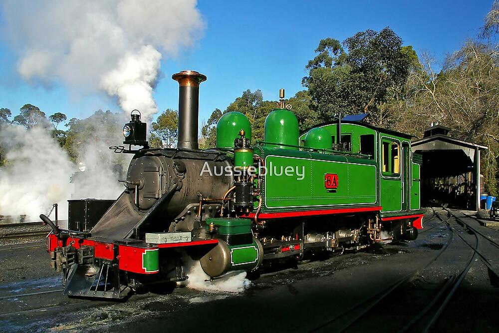 Raising Steam. by Aussiebluey