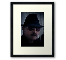 BLACK IS BLACK Framed Print