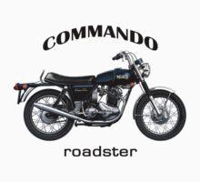 Norton Commando Roadster by tonynewland