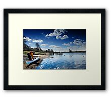 River Dee Chester Framed Print