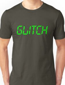 Glitch Green Unisex T-Shirt