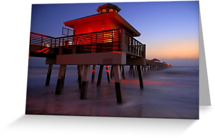 The Beach Lantern at Sunrise by Franklin Lindsey
