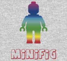 Minifig Rainbow  One Piece - Short Sleeve