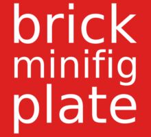 brick minifig plate  One Piece - Long Sleeve