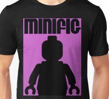 Retro Large Black Minifig Unisex T-Shirt