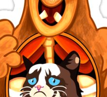 ALF Grumpy Cat  Sticker