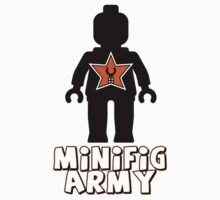 """MINIFIG ARMY"" Minifig with Customize My Minifig Star Logo by Customize My Minifig"