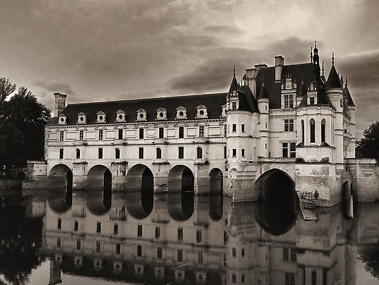 Chteau de Chenonceau 2 by kuntaldaftary