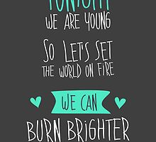 Tonight we are young... by Puchu